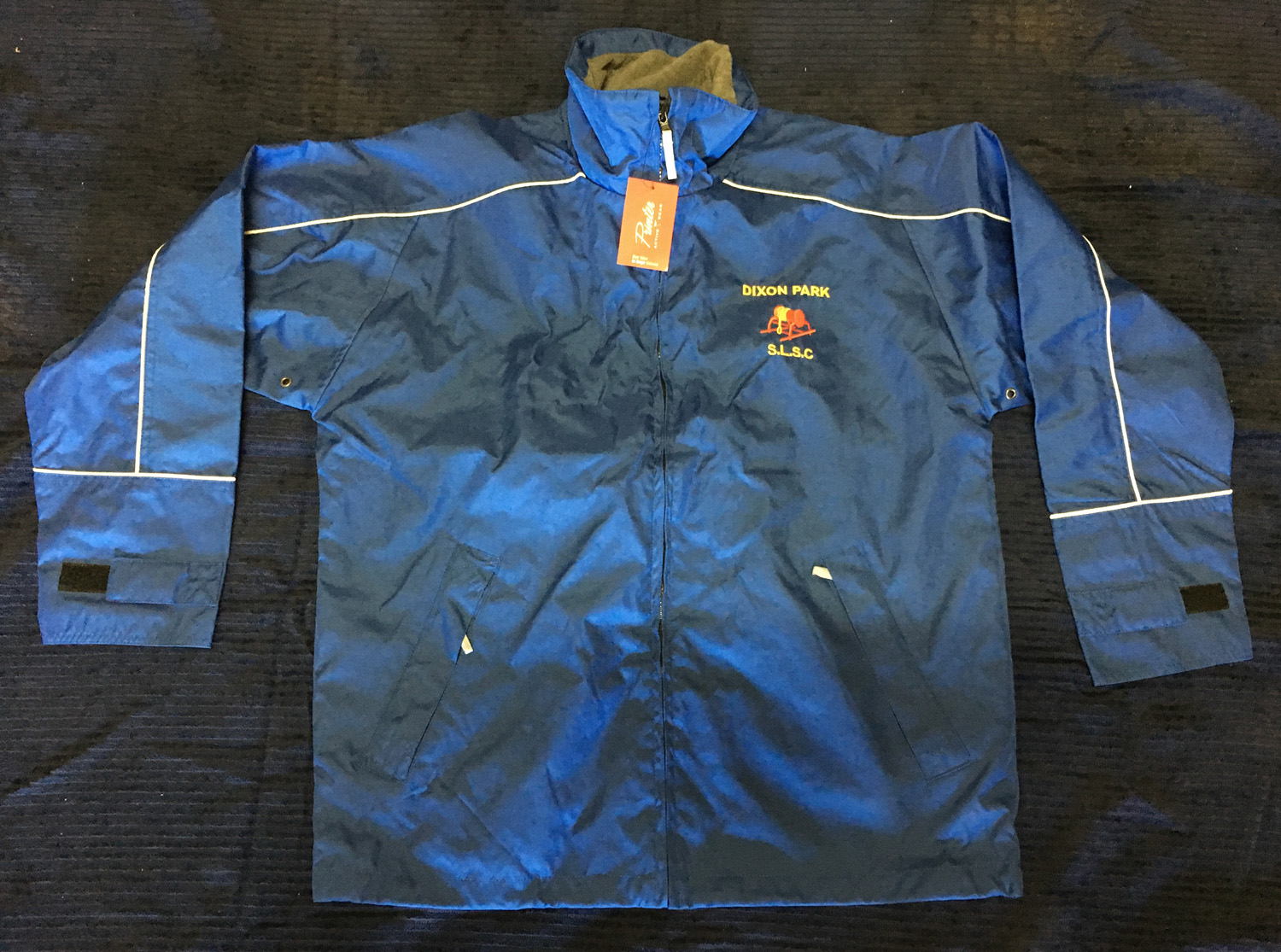 Blue Spray Jacket $30 Image