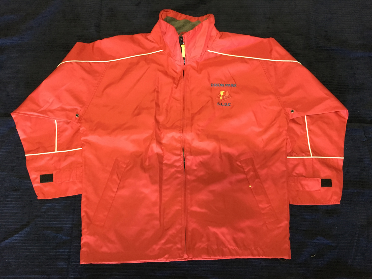 Red Spray Jacket $30 Image